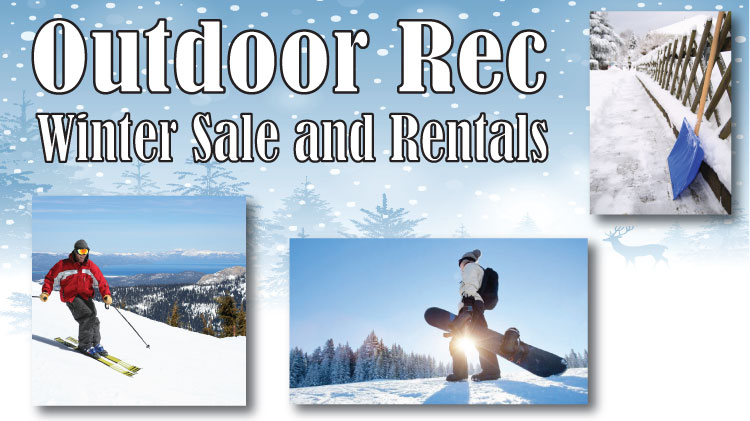 Winter Sale and Rentals