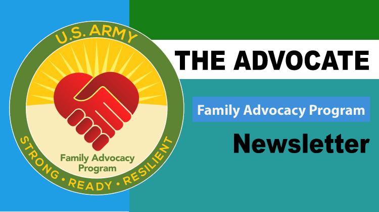 Family Advocacy Program Newsletter