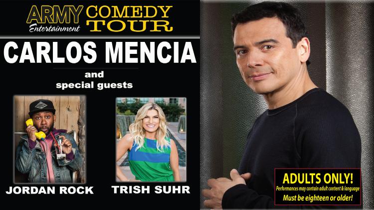 Army Entertainment Comedy Tour - Carlos Mencia