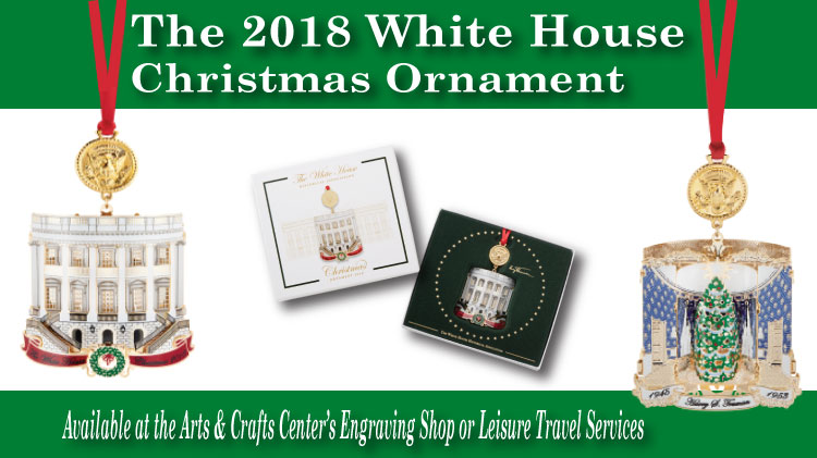 White House Christmas Ornament.Us Army Mwr 2018 White House Christmas Ornament