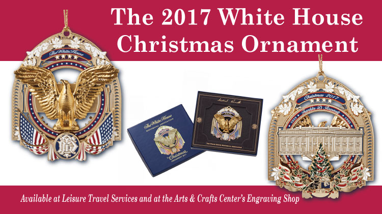 2017 White House Christmas Ornament