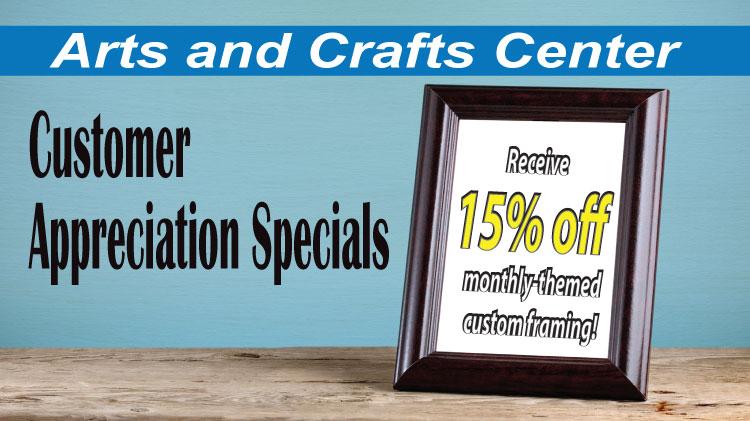 US Army MWR :: Custom Framing Specials