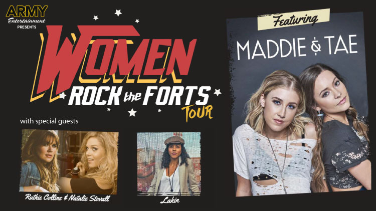 Women Rock the Forts Tour: Maddie & Tae in Concert