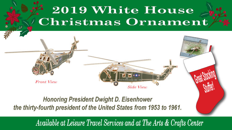 2019 White House Christmas.Us Army Mwr 2019 White House Christmas Ornament