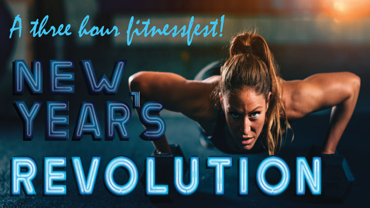 New Year's Revolution - Fitnessfest