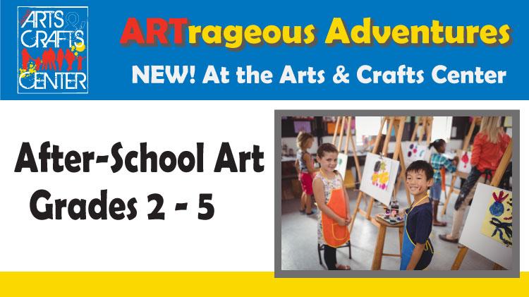 After-School Art - Grades 2-5