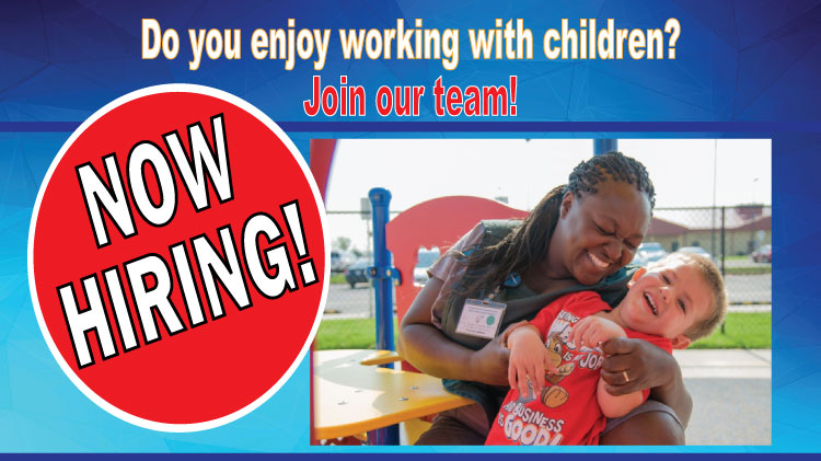 Child and Youth Services Is Hiring!