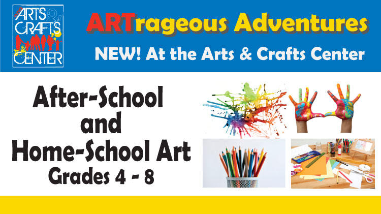 After-School and Home-School Art