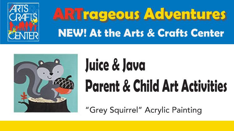 Juice & Java - Parent & Child Art Activites