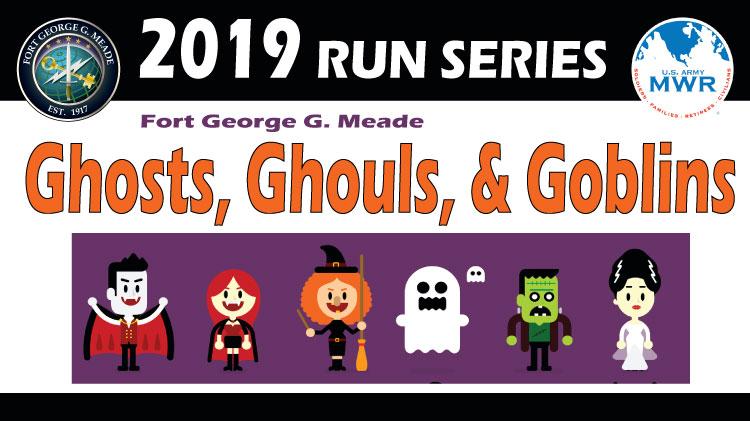 Run Series - Ghosts, Ghouls, & Goblins 5K Run / 1 Mile Walk