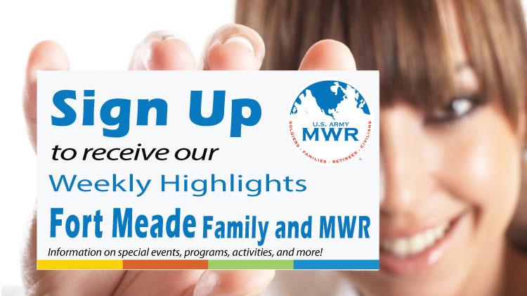 MWR Weekly Highlights