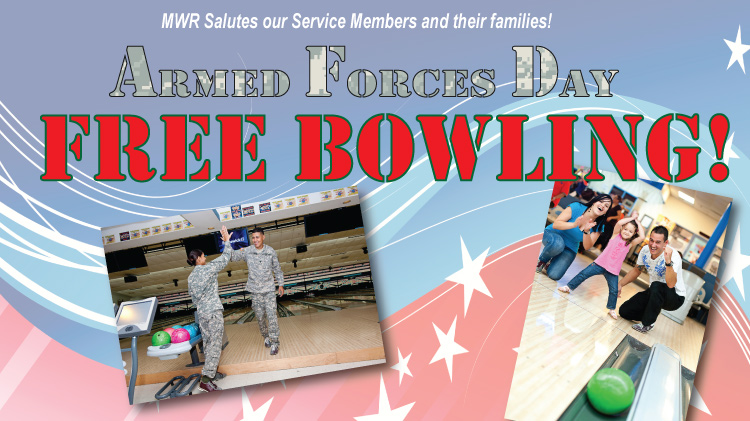 Armed Forces Day - Free Bowling